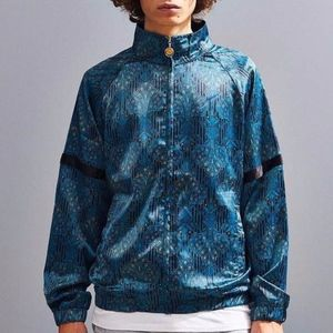 Urban Outfitters  Mens Scarf Print Bomber Jacket